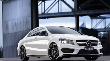 Mercedes' new CLA 45 coupe is a hotrod, yet is surprisingly easy to drive gently in day-to-day conditions