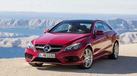 Revised shape of the new Mercedes-Benz E-Class coupe and cabriolet work exceptionally well