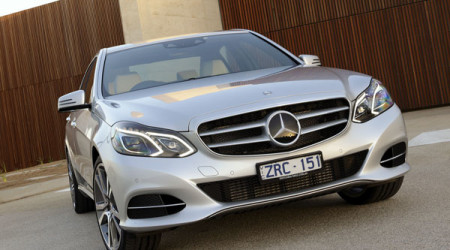 The new Mercedes-Benz E-Class sedan and wagon combine sporty looks with the latest in technology