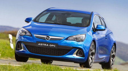 Star performer: Opel Astra OPC states its sporty intention from the out