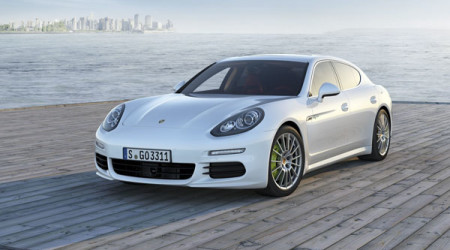 Styling of the second generation Porsche Panamera is sharp and aggressive
