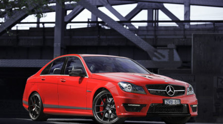 Mercedes-Benz C 63 AMG 'Edition 507' gets hard-edged styling, and 507 horsepower under the bonnet to match its looks