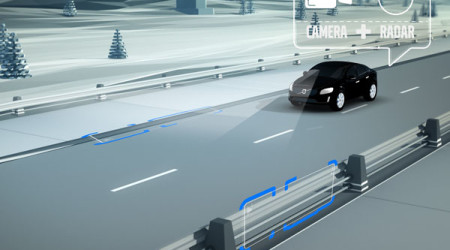 Volvo cars will soon be able to scan 360 degrees around themselves to look out for possible dangers, then act upon them