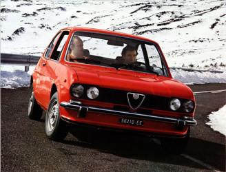 1977 Alfa Romeo Alfasud Ti Coupe