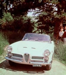 1957 Alfa Romeo 2000 Spider